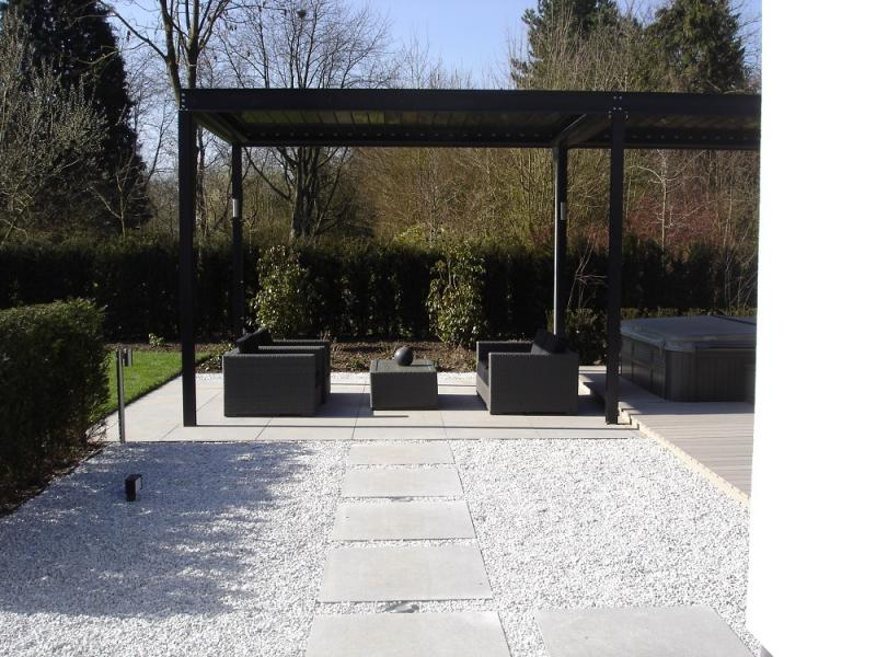 Blonk tuinontwerp fotos - Lay outs terras fotos ...